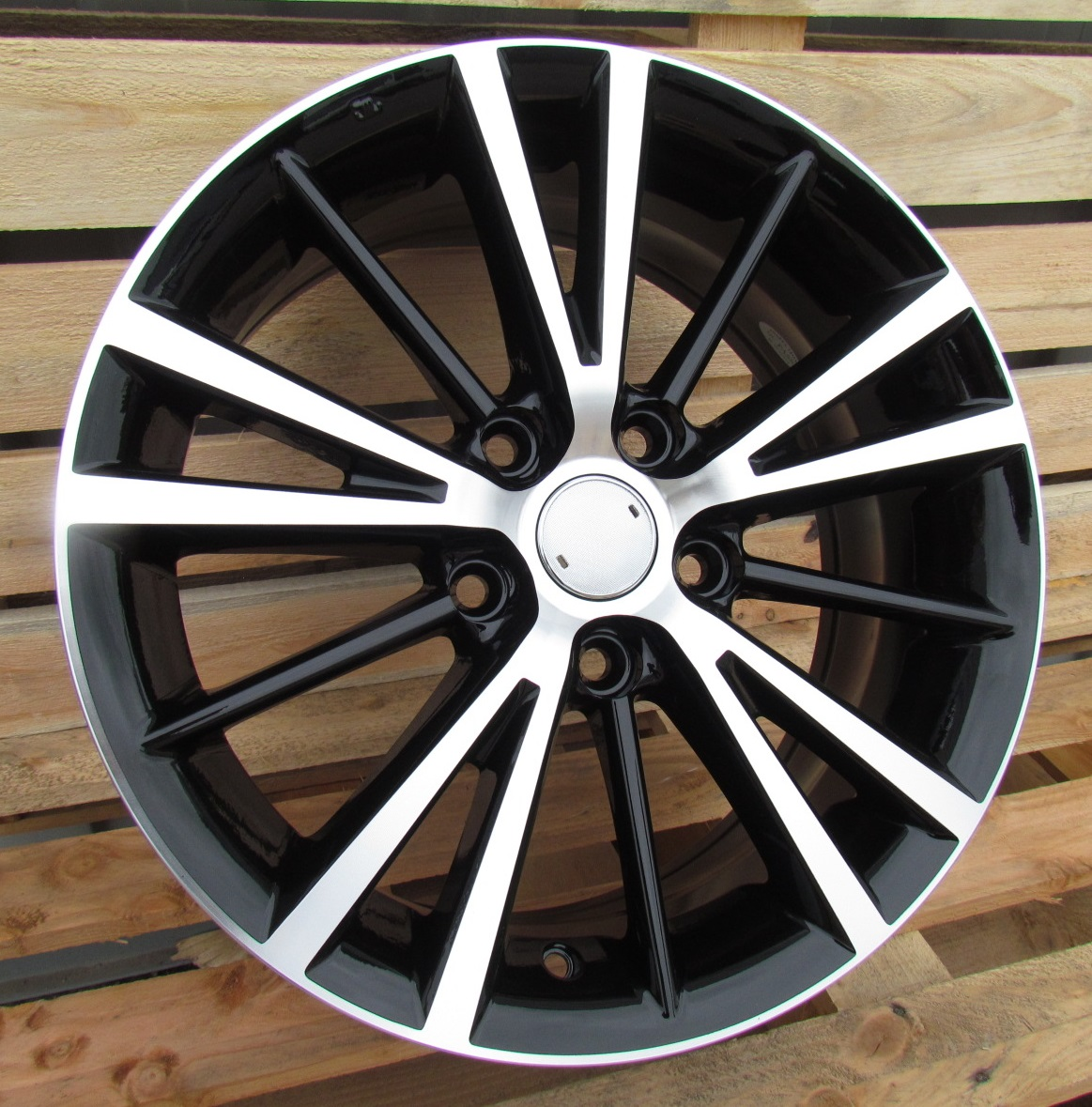 T15X6.5 5X114.3 ET40 60.1 A5197 MB+POWDER COATING (+3eur) RWR TOY ()## 6.5x15 ET40 5x114.3