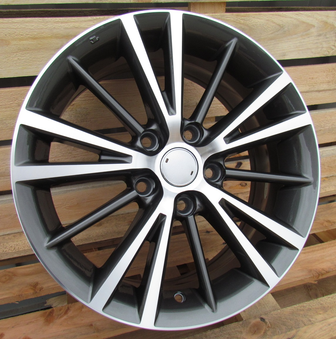 T15X6.5 5X114.3 ET40 60.1 A5197 MG+POWDER COATING (+3eur) RWR TOY ()## 6.5x15 ET40 5x114.3