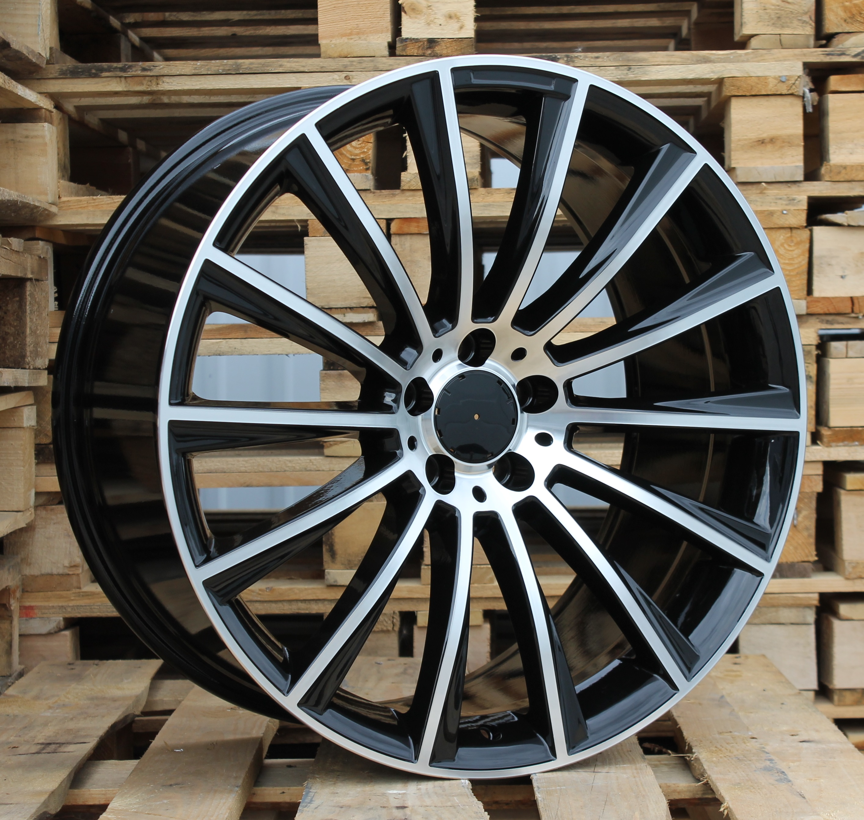 M19X9.5 5X112 ET43 66.6 BY1048 MB+Powder Coating (Rear+Front) RWR MER (+3eur) (K4)## 9.5x19 ET46 5x112