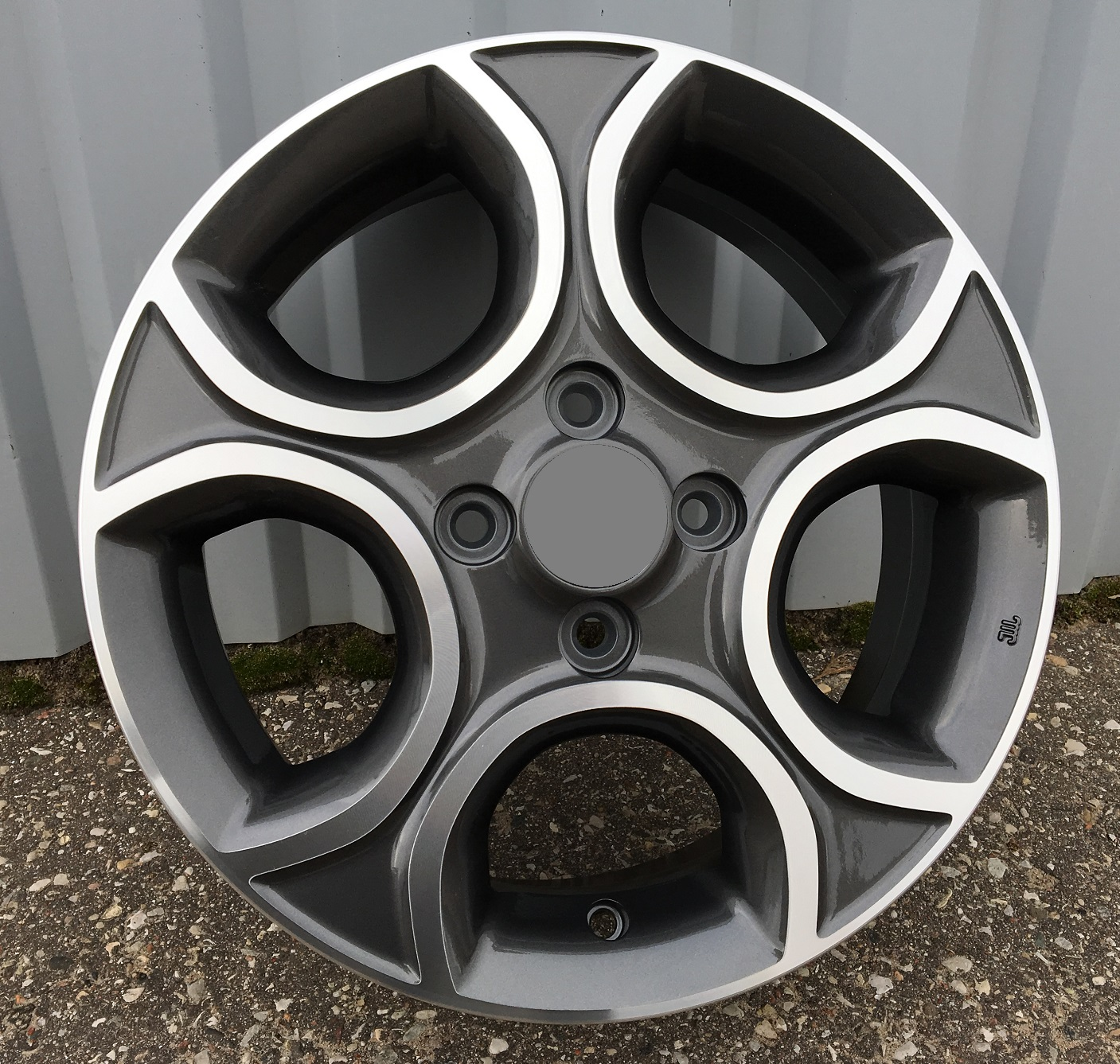 K15X5.5 4X100 ET52 54.1 BK5094 dark MG RWR KI (AKC 35)(D5) 5.5x15 ET52 4x100