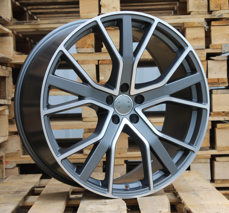 A22X10 5X112 ET21 66.4 BK5131 (A5383) MG half matt+Powder coating (MXGR) RWR AUD Q8 (+5 eur) (P)## 10x22 ET21 5x112