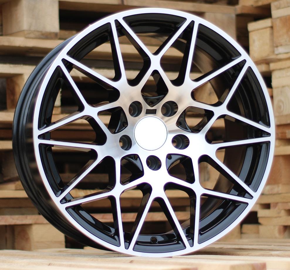 B20X8.5 5X120 ET35 72.6 BK5167 MB+Powder Coating (Rear+Front) RWR BM (+3eur) ()## 8.5x20 ET33 5x120