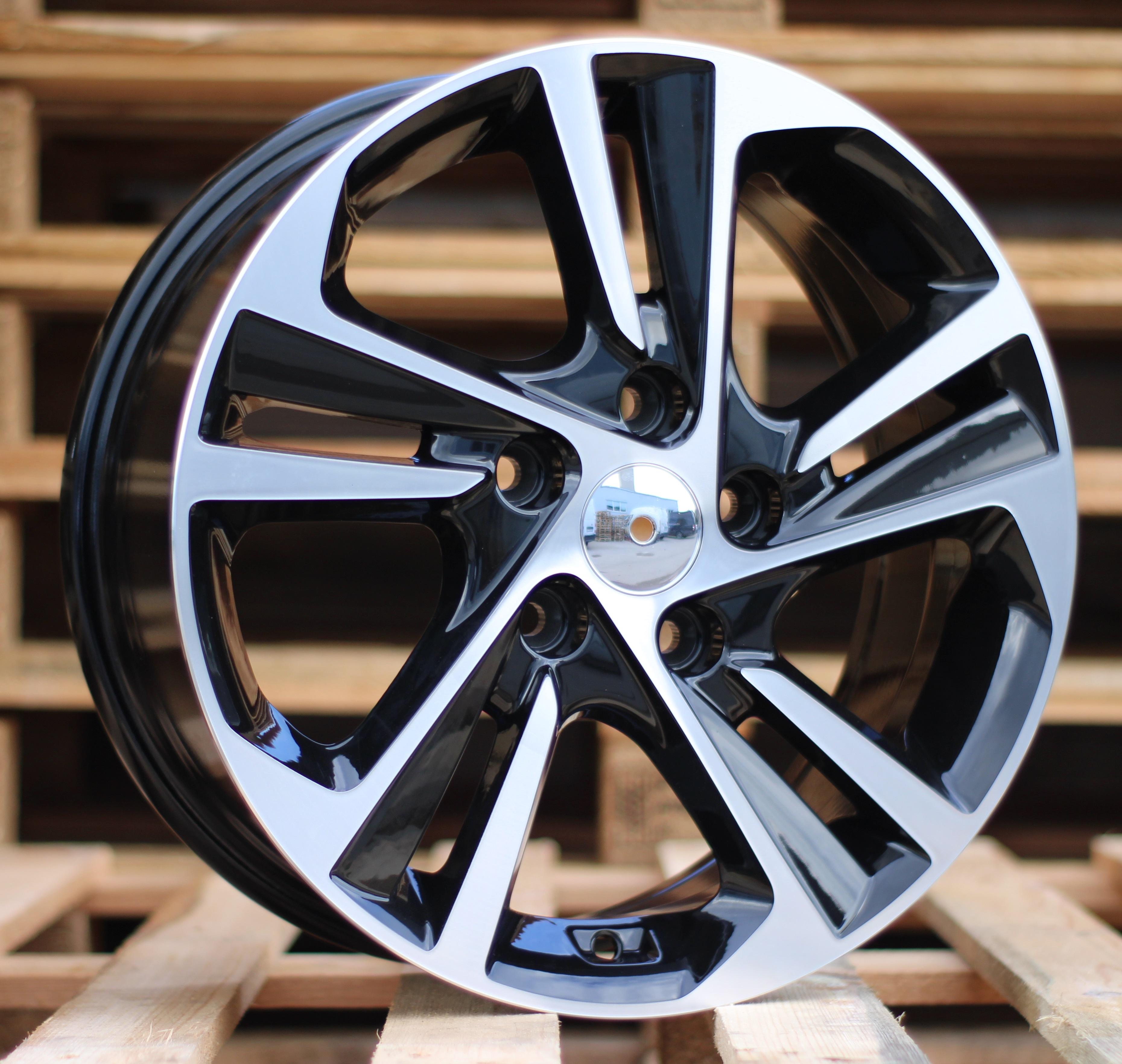 H16X6.5 5X114.3 ET45 67.1 BK5210 MB RWR Hyundai (D5) 6.5x16 ET45 5x114.3