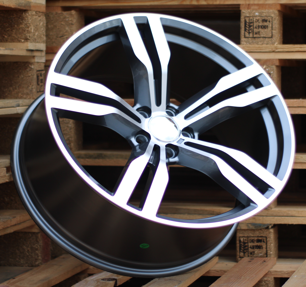 B19X9.5 5x120 ET39 72.56 BK5327 MG (Rear+Front) RWR BM (P) 9.5x19 ET39 5x120