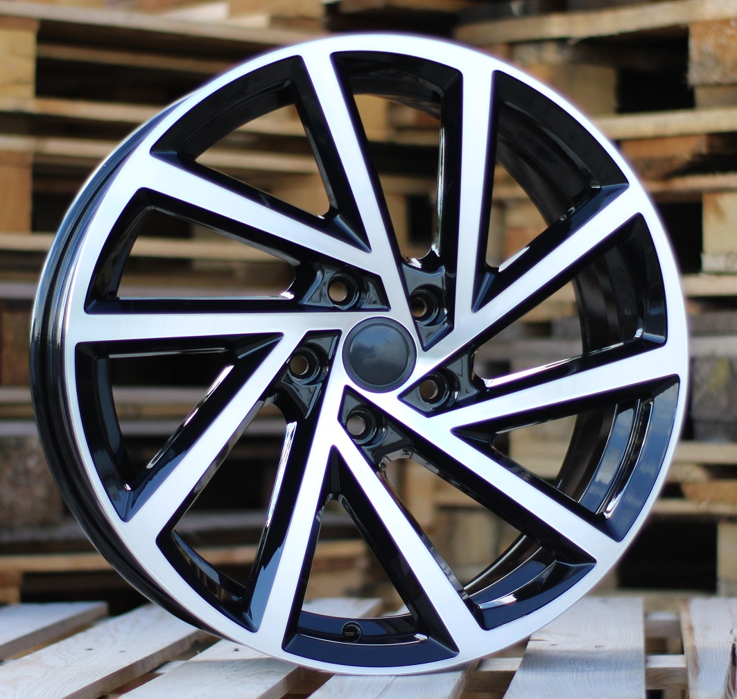 W18X7.5 5X112 ET45 57.1 BK5329 (BY1420) MB+Powder Coating RWR W (+3eur) (P1)## 7.5x18 ET45 5x112