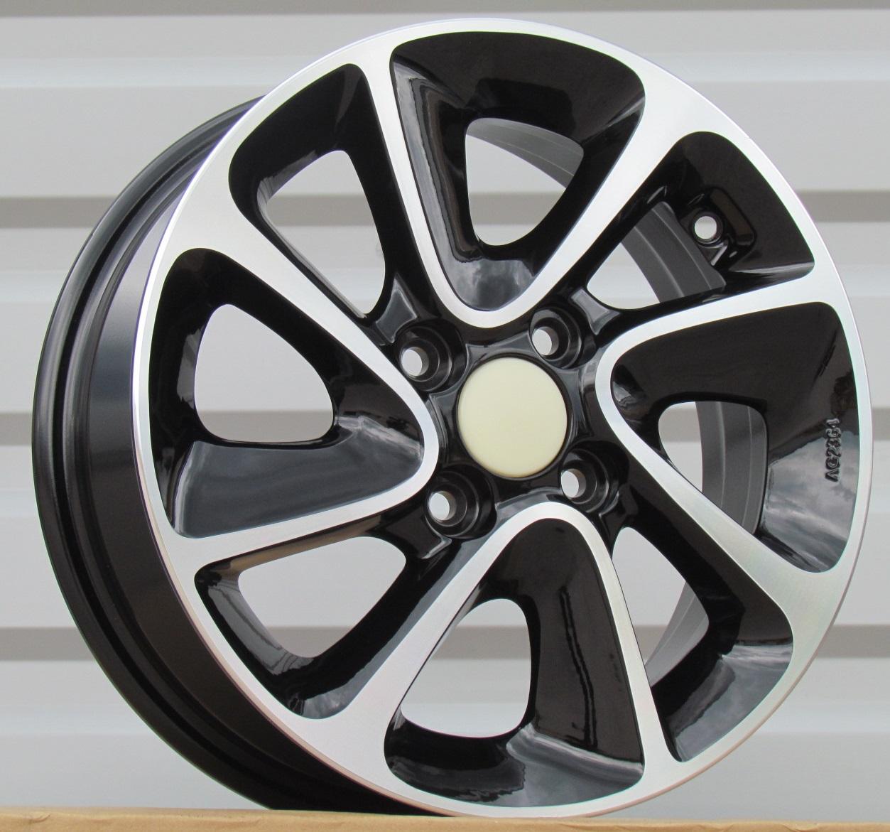 ALU PLATIŠČA H14X5 4X100 ET41 54.1 BK5387 MB+Powder Coating RWR Hyundai (+2eur) (K4)## 5x14 ET41 4x100