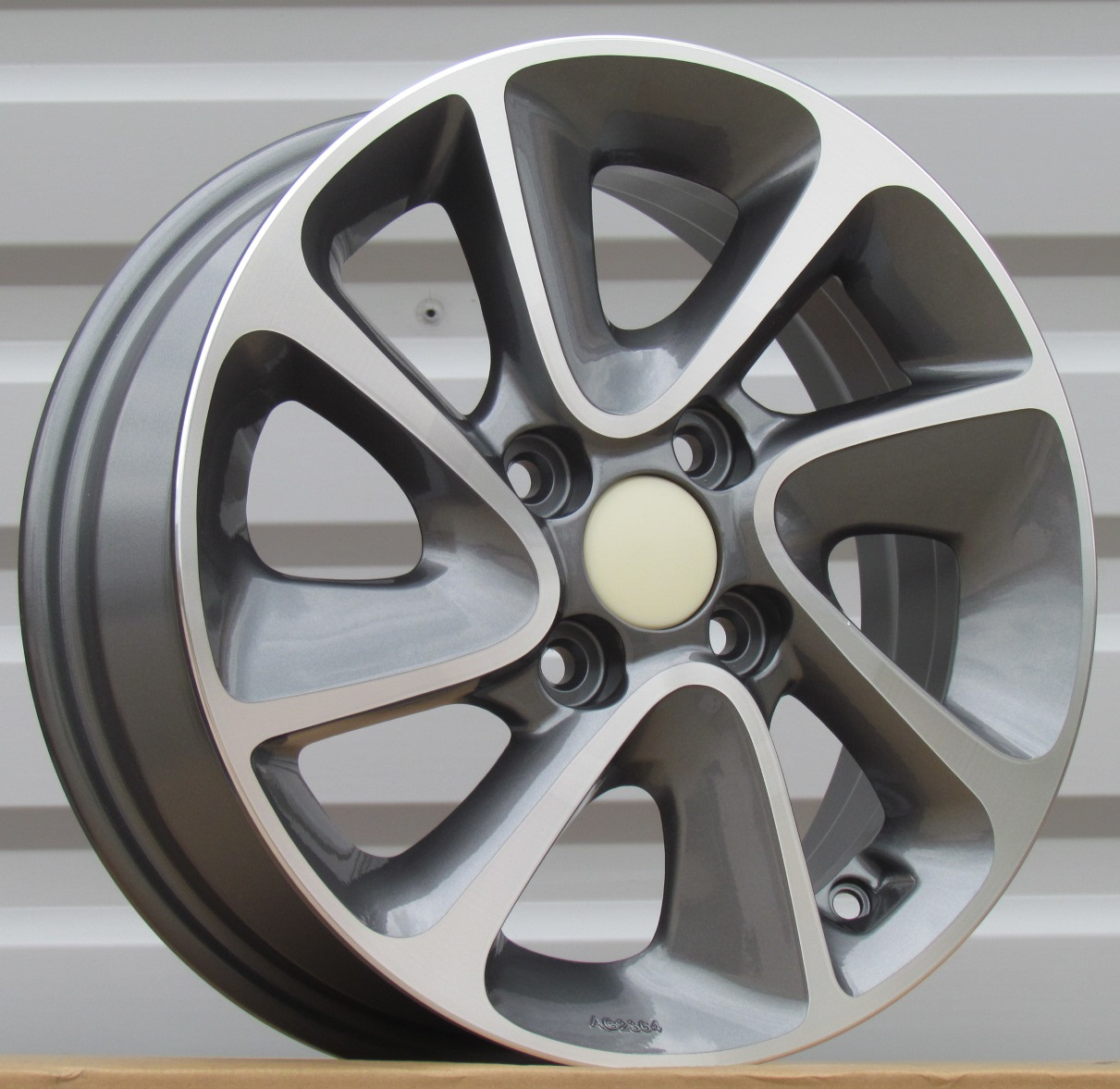 K14X5 4X100 ET41 54.1 BK5387 MG+Powder Coating RWR KI (+2eur) (K4) 5x14 ET42 4x100
