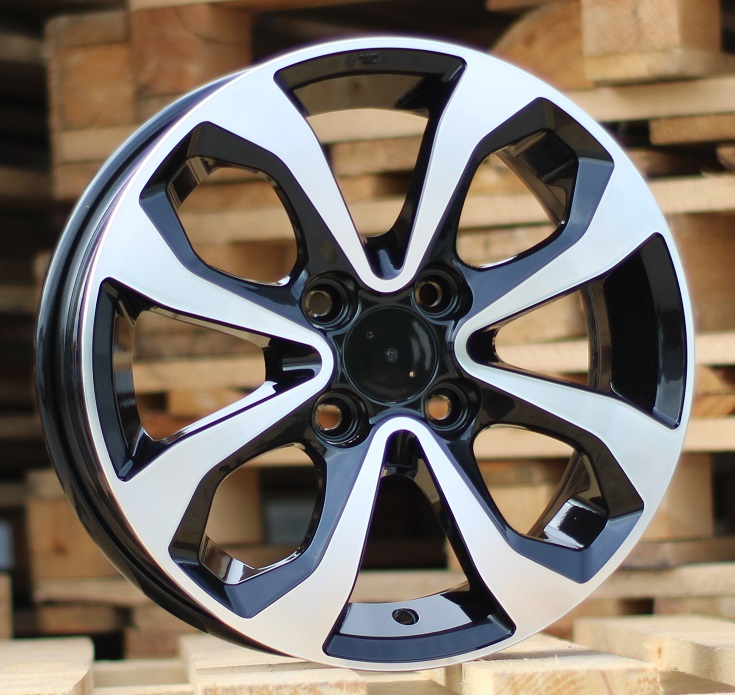 N14X5.5 4X100 ET40 60.1 BK5459 MB+POWDER COATING RWR NIS (+2eur) (L1) 5.5x14 ET41 4x100