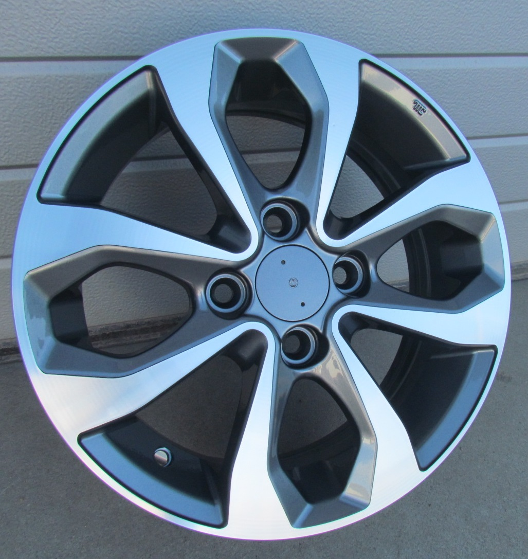 N14X5.5 4X100 ET40 60.1 BK5459 MG+POWDER COATING RWR NIS (+2eur) (K4)## 5.5x14 ET40 4x100