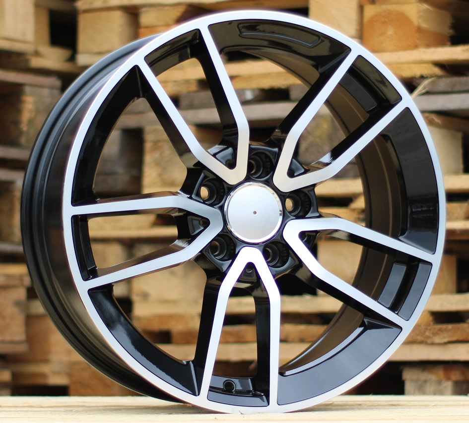 M17X7.5 5X112 ET45 66.6 BK5461 MB+Powder Coating RWR MER (+3eur) (P1)## 7.5x17 ET45 5x112