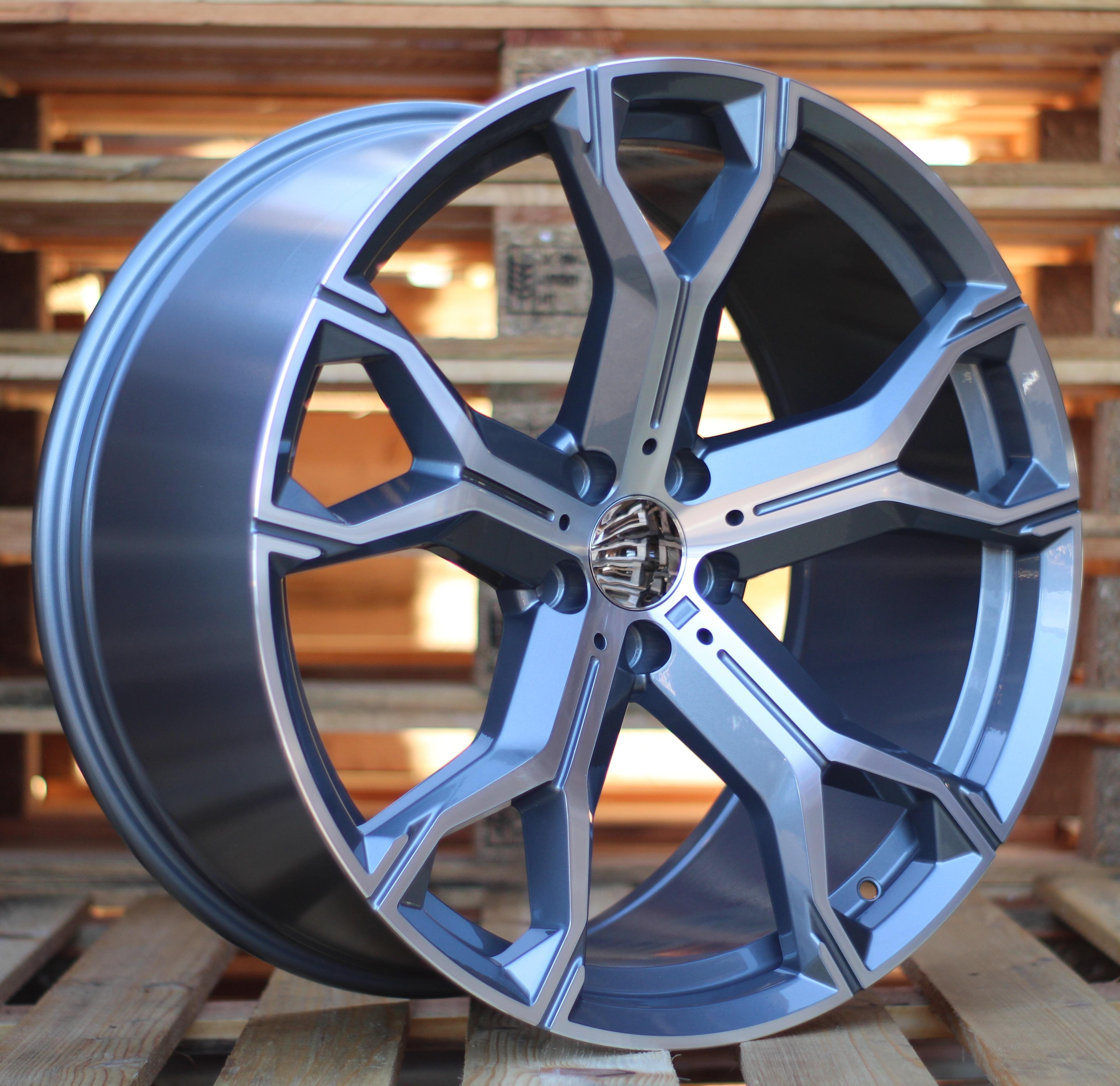 B21X9.5 5x112 ET37 66.5 BK5498 MG+Powder coating (Rear+Front) RWR BM NEW X5 (+5 eur)(P) 9.5x21 ET37 5x112