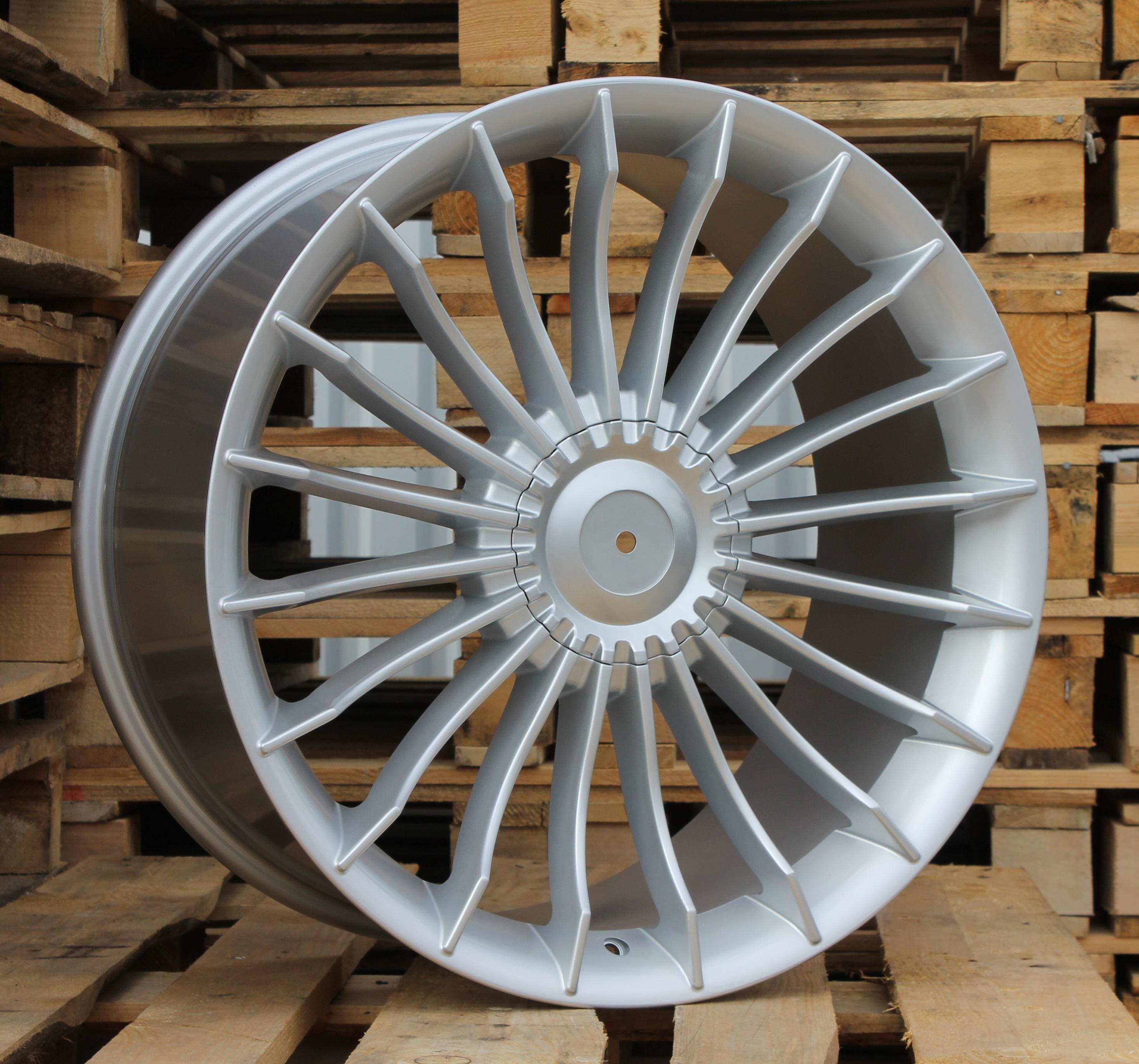B18X8.5 5X120 ET20 74.1 BK273 SI (Rear+Front) RWR Style Alpina (P)## 8.5x18 ET19 5x120