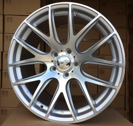 B18X9.5 5X120 ET38 72.6 BK663 MS+Powder coating (Rear+Front) RWR Style BBS (+3 eur)(P) 9.5x18 ET38 5x120