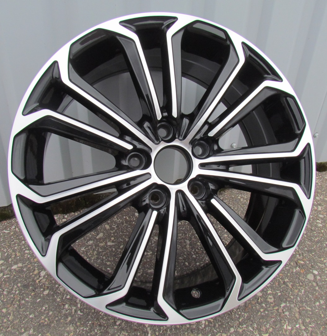 T15X6.5 5X114.3 ET40 60.1 BK667 MB+Powder Coating RWR TOY (+2eur) (D2)## 6.5x15 ET41 5x114.3