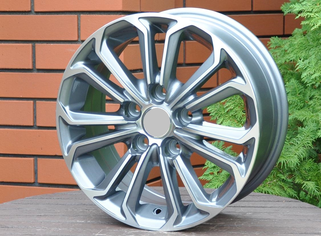 T15X6.5 5X114.3 ET40 60.1 BK667 MG+Powder Coating RWR TOY (+2eur) (D2)## 6.5x15 ET41 5x114.3