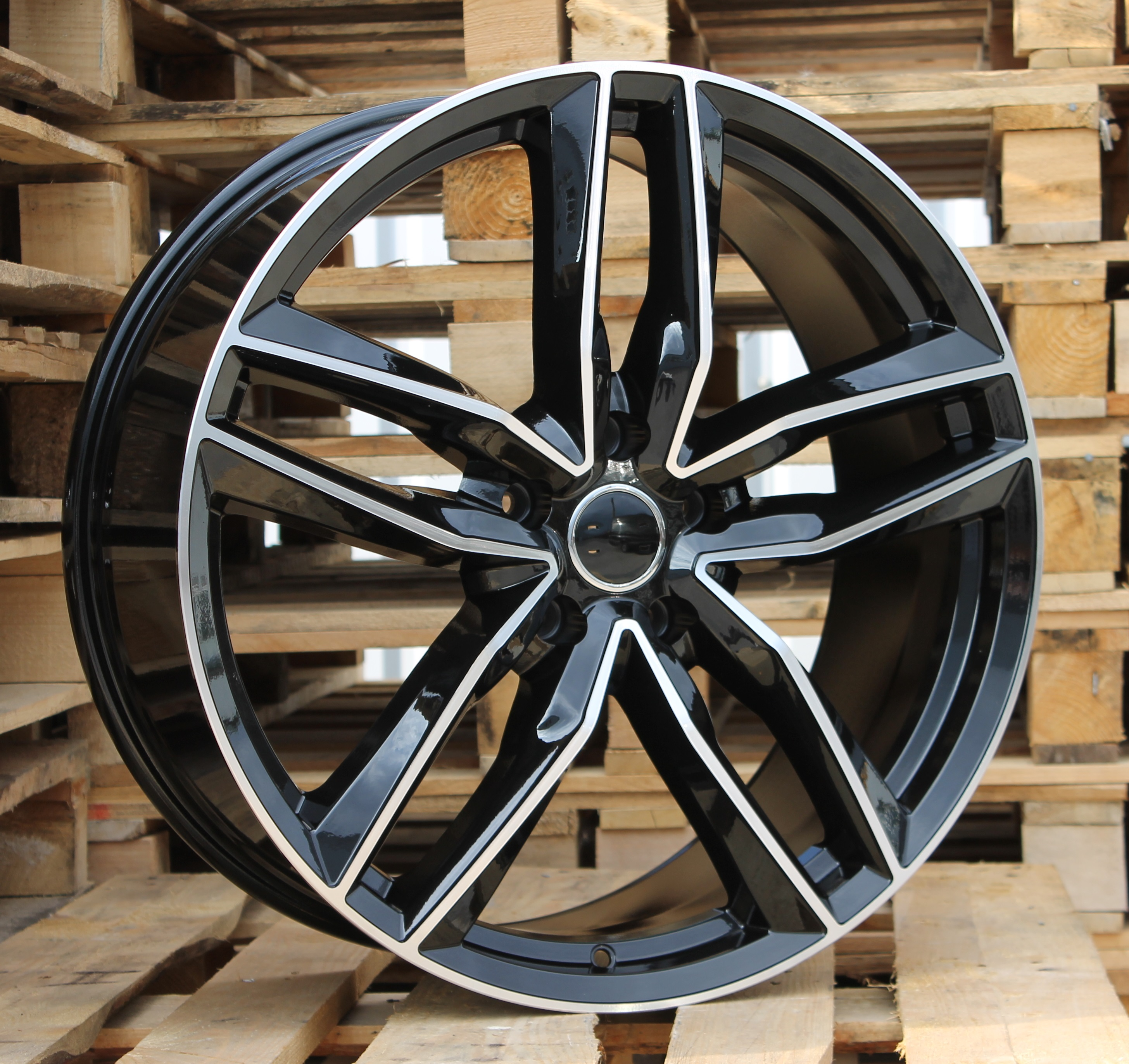 A17X7.5 5x112 ET40 66.45 BK690 MB+Powder Coating RWR AUD (+3eur) (P)## 7.5x17 ET40 5x112