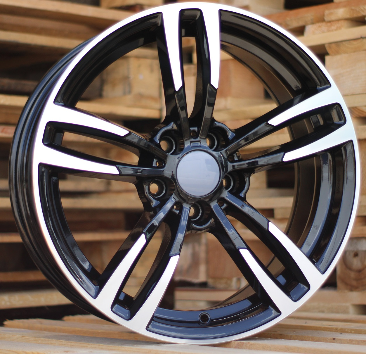 B17X8 5X120 ET34 72.6 BK855 (BY1121) MB+Powder Coating RWR BM (+3eur) (R)## 8x17 ET35 5x120