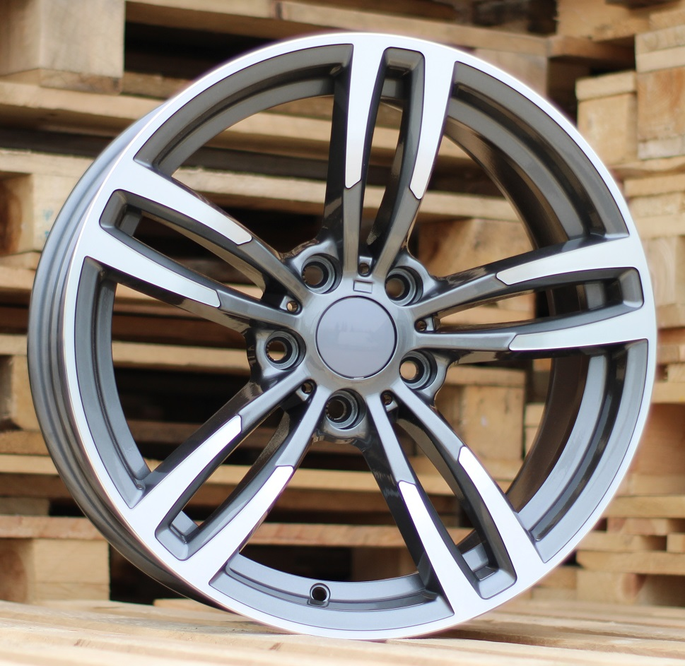 B17X8 5X120 ET34 72.6 BK855 (BY1121) MG+POWDER COATING RWR BM (+3eur) ()## 8x17 ET34 5x120