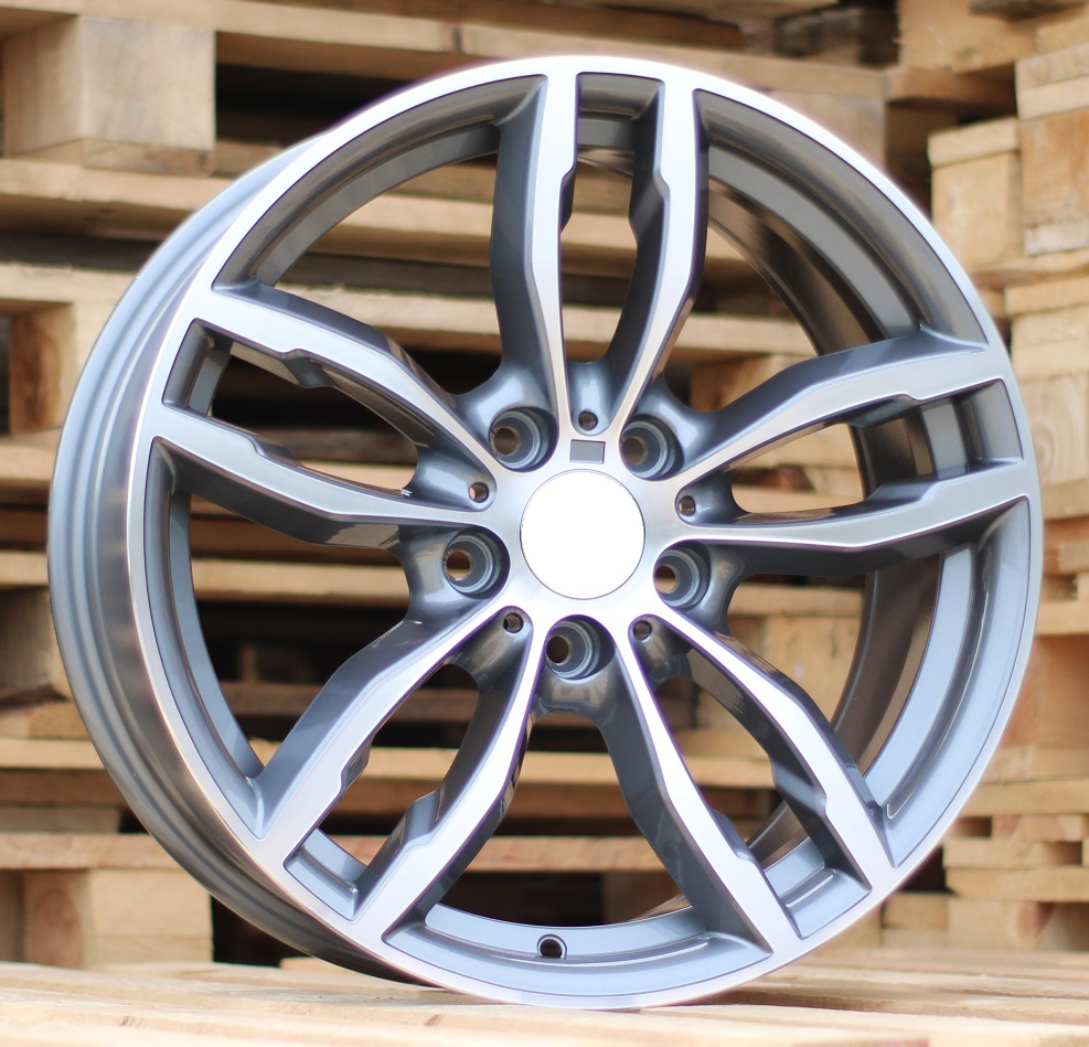 B18X8 5X120 ET45 72.6 BK921 MG+Powder coating RWR BM (+3 eur) (K2) 8x18 ET45 5x120