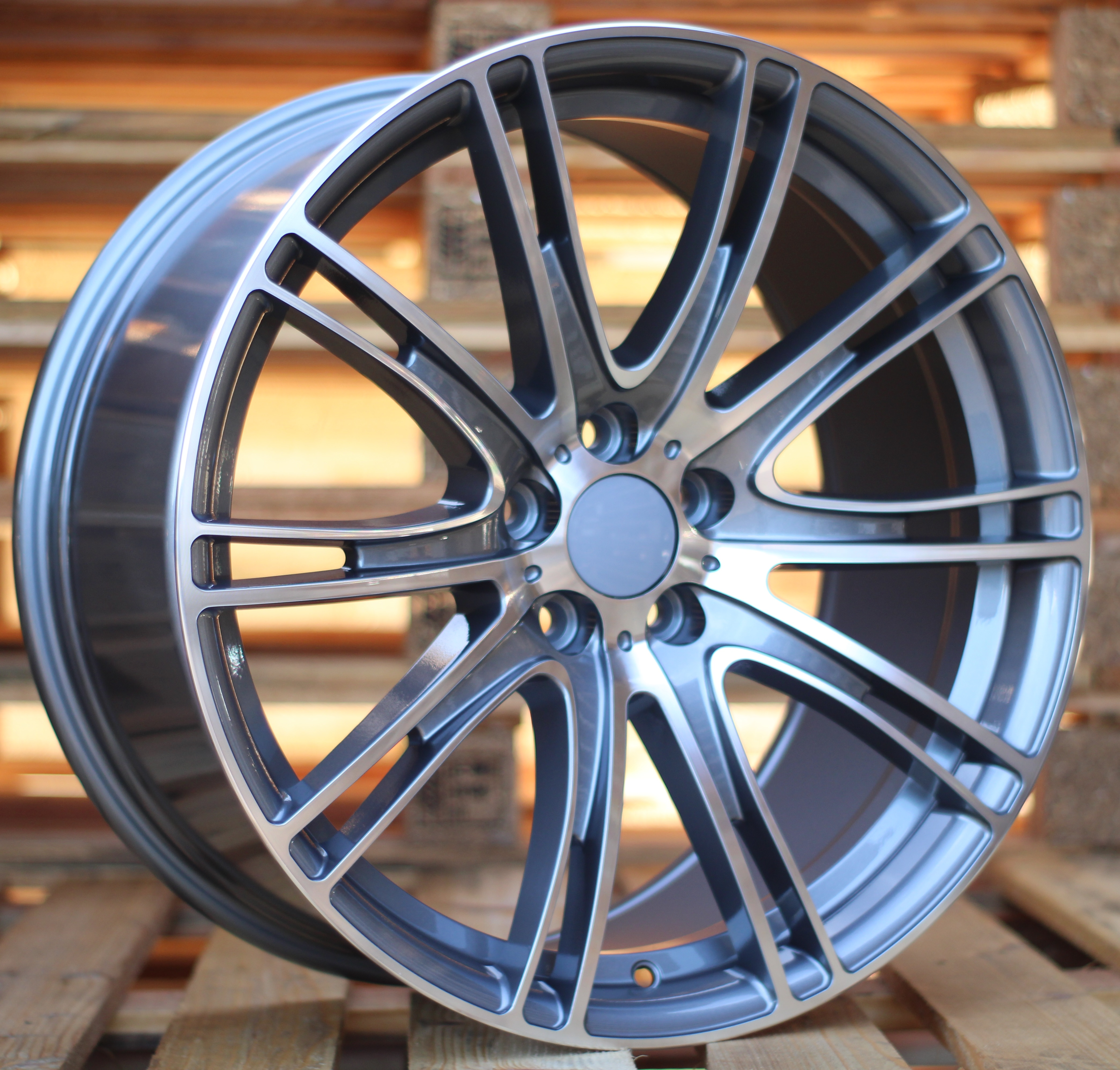 B19X9.5 5x112 ET39 66.6 BY599 (LJ599) MG (G12/MF) (Rear+Front) RWR BM(K7) 9.5x19 ET35 5x112