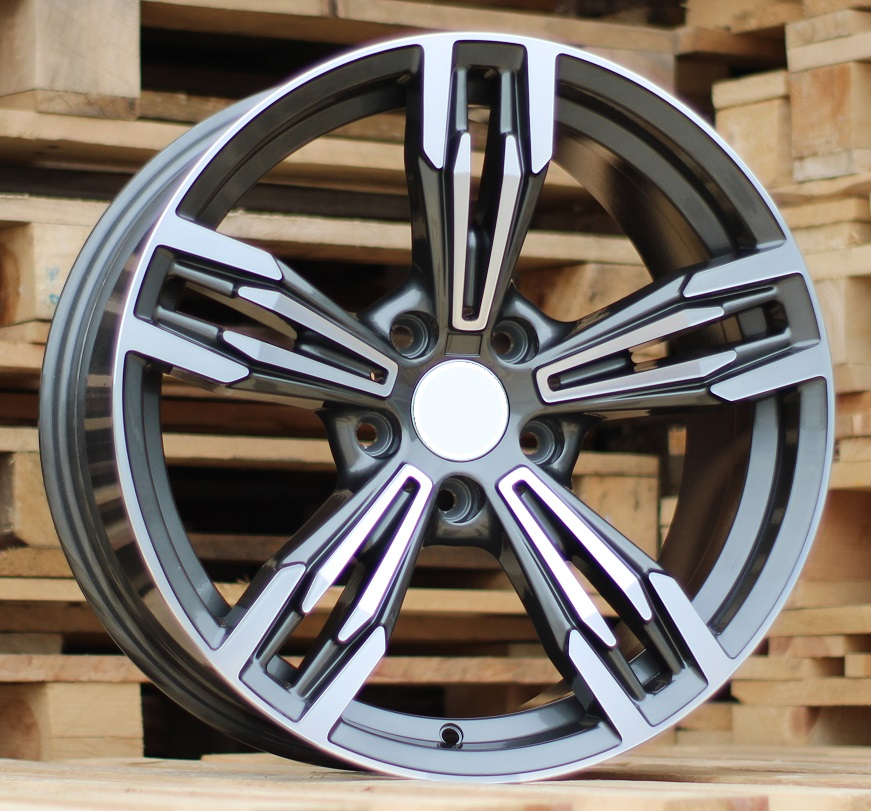 B18X8 5x120 ET20 74.1 BY983 (5081) MG+Powder coating RWR BM (+3eur) (K7)## 8x18 ET22 5x120