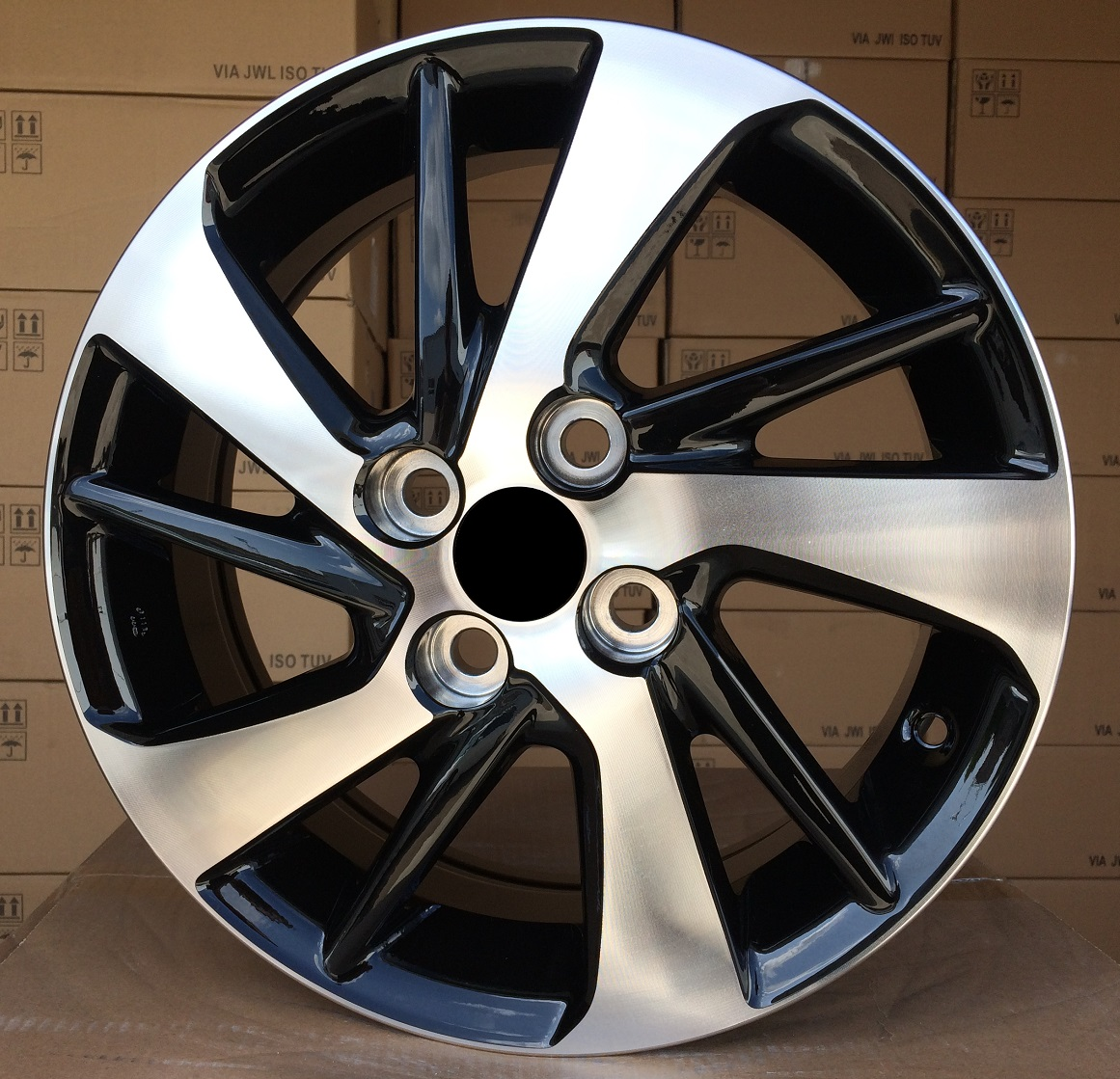 T15X5.5 4X100 ET45 54.1 TL0458NW (XFE146) MB+POWDER COATING RWR TOY (+2eur) ()## 5.5x15 ET46 4x100