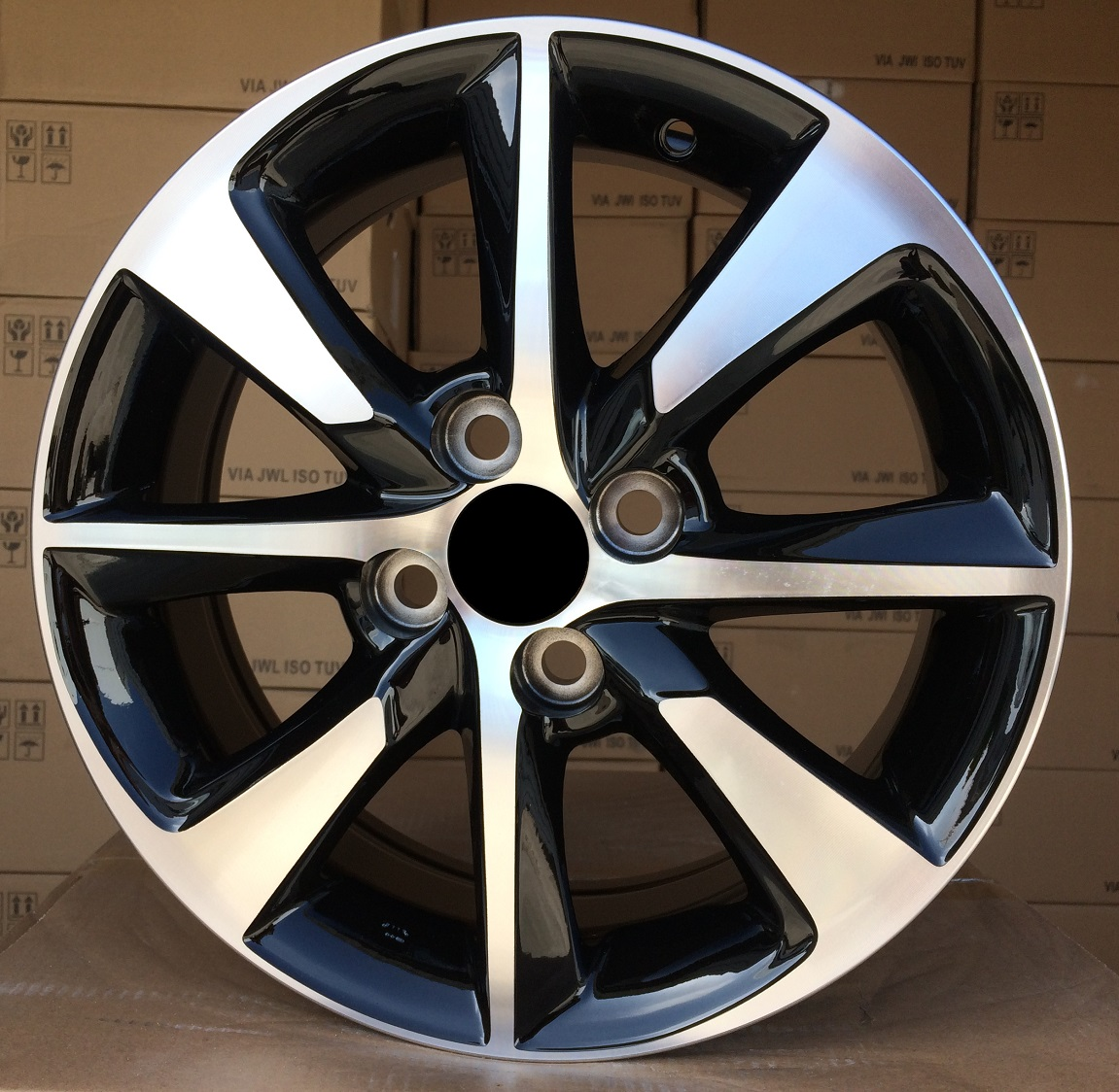 T14X5.5 4X100 ET40 54.1 TL8166 MB+POWDER COATING RWR TOY (+2eur) (D5)## 5.5x14 ET41 4x100