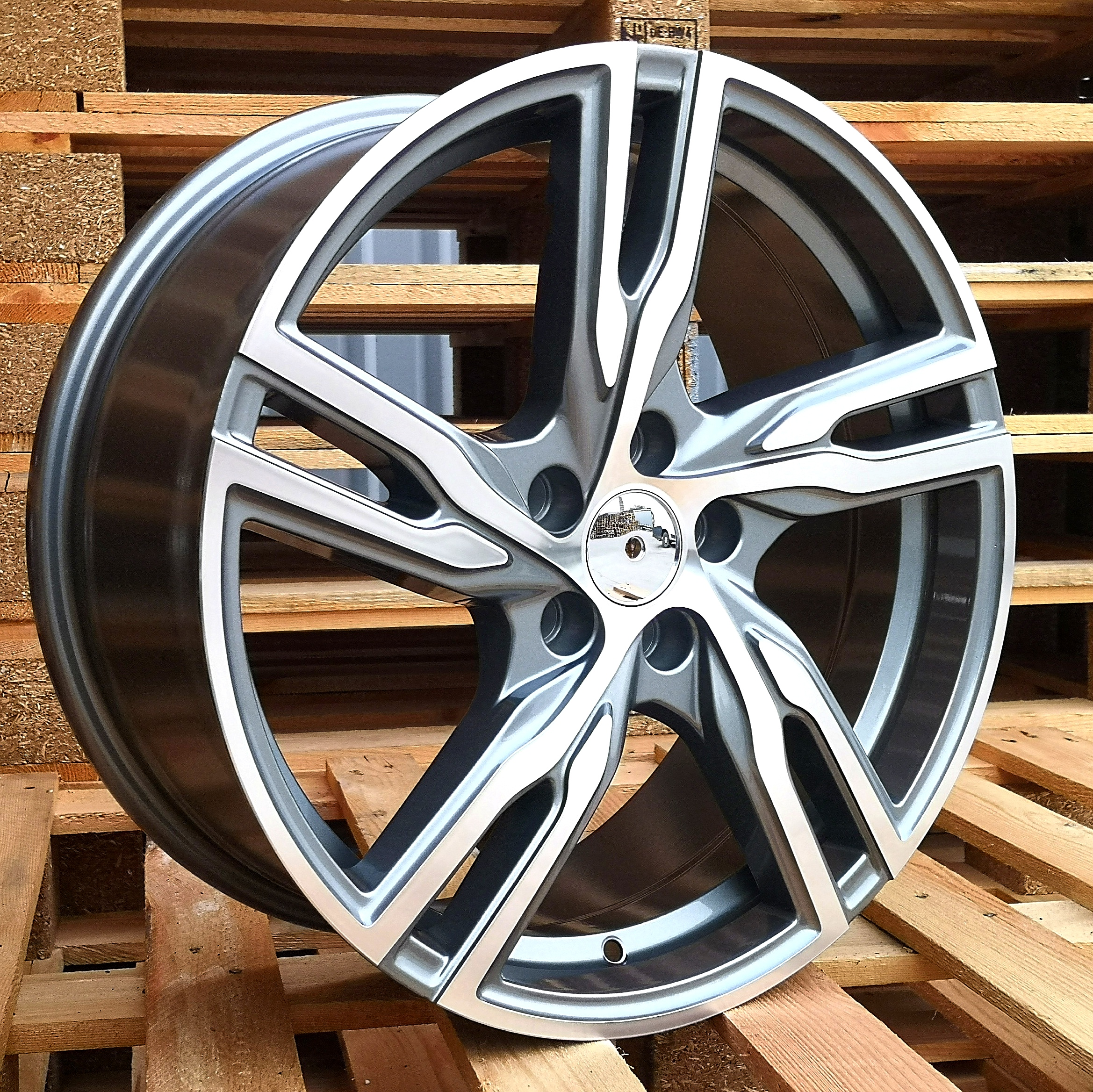 V18X8 5X108 ET42 63.3 FE161 (BK5399) MG+Powder Coating RWR VOL (+3eur) (P)## 8x18 ET42 5x108