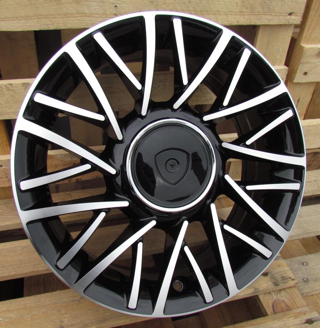 F15X6 4X98 ET30 58.1 LU360 MB+POWDER COATING RWR Lancia (+2eur) (R)## 6x15 ET30 4x98