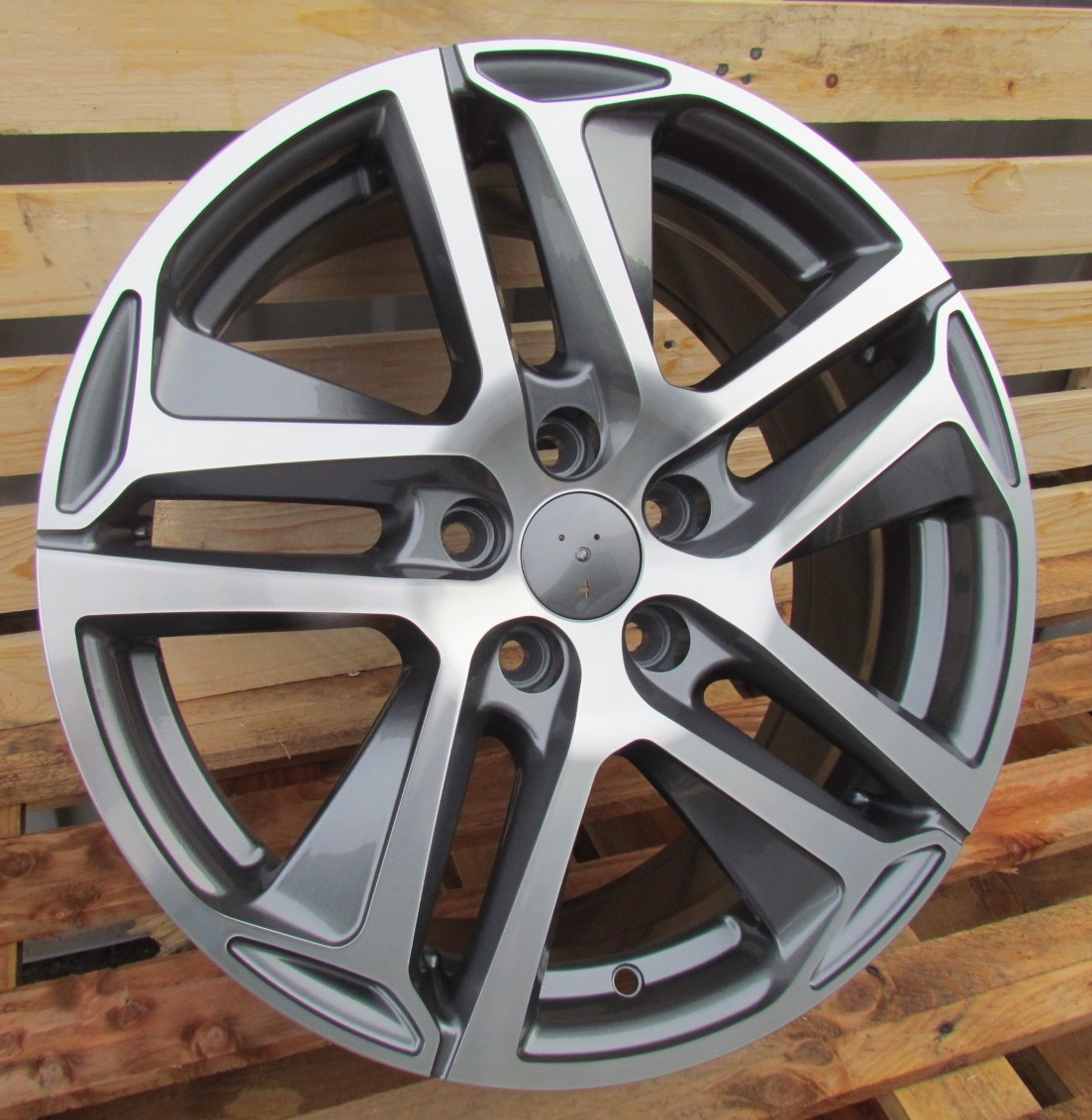 P17X7.5 4X108 ET25 65.1 PG534 (BK5516) MG+POWDER COATING RWR PEU (+3eur) (L6) 7.5x17 ET25 4x108