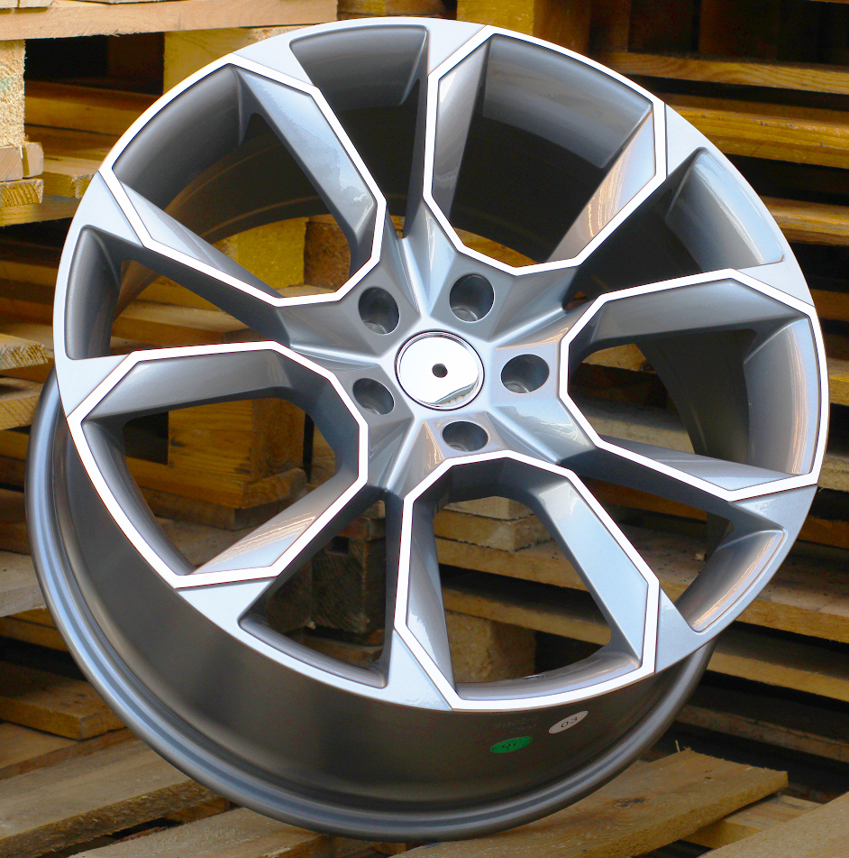 S19X8.5 5X112 ET40 57.1 SK516 (BYD1310) MG+Powder Coating RWR Skoda (+3eur) (P) 8.5x19 ET40 5x112
