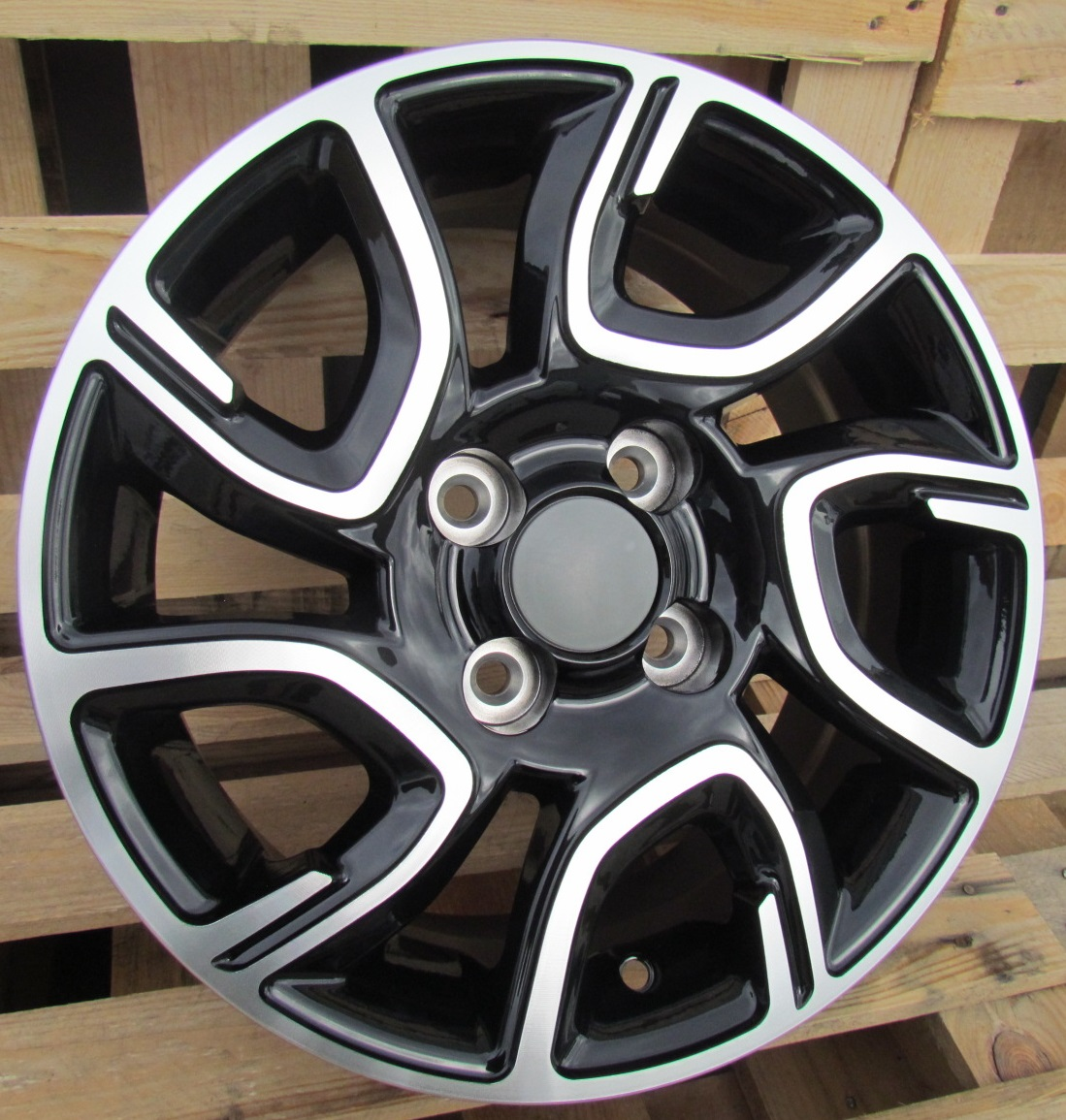 K14X6 4X100 ET35 54.1 XFE186 MB+Powder Coating RWR KI (+2eur) (R)## 6x14 ET36 4x100