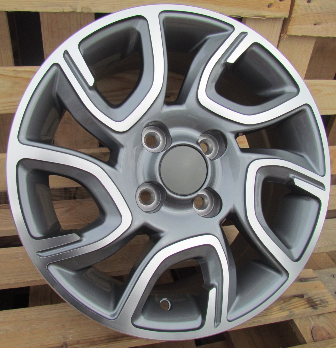 K14X6 4X100 ET35 54.1 XFE186 MG+Powder Coating RWR KI (+2eur) (R)## 6x14 ET34 4x100