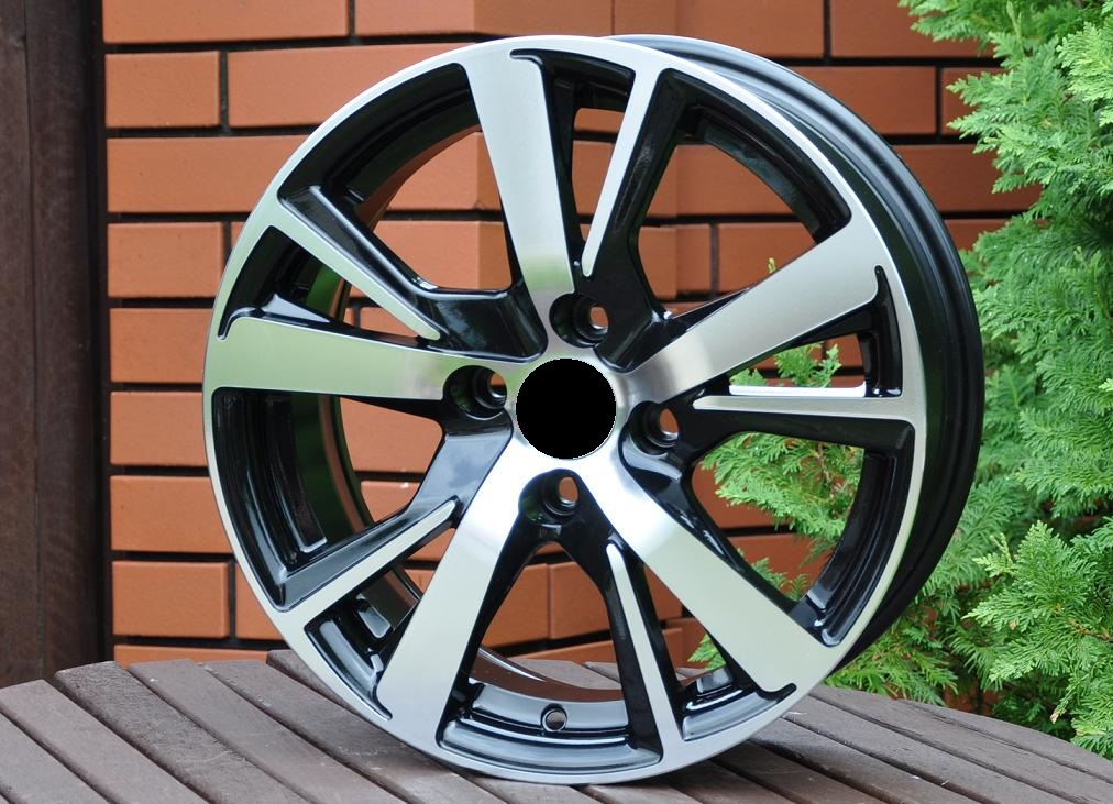 P15X6 4X108 ET23 65.1 XF081 MB+POWDER COATING RWR PEU (+2eur) ()## 6x15 ET23 4x108