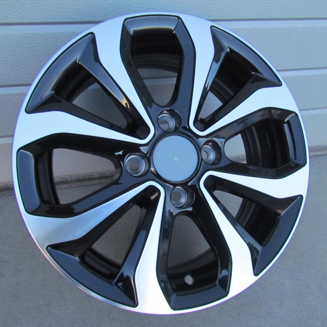 R14X5.5 4X100 ET38 54.1 XFE275 MB+POWDER COATING RWR Hyundai (+2eur) (P1)## 5.5x14 ET38 4x100