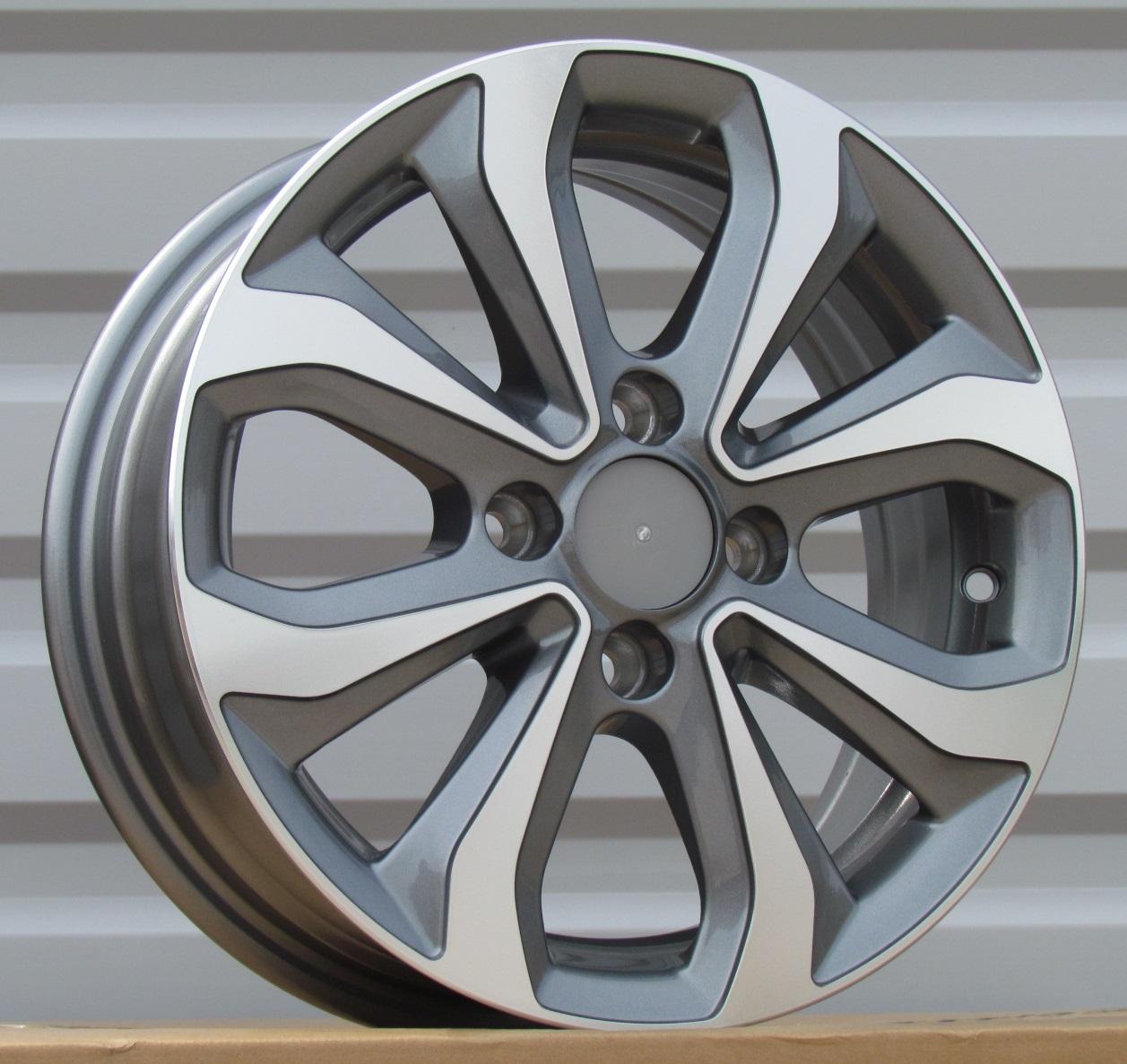 ALU PLATIŠČA R14X5.5 4X100 ET38 54.1 XFE275 MG+POWDER COATING RWR Hyundai (+2eur (P1)## 5.5x14 ET38 4x100