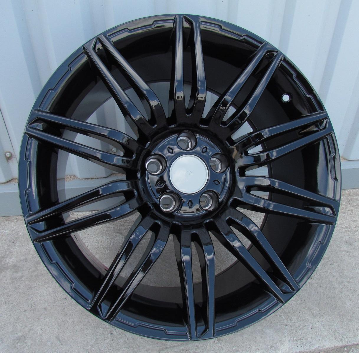 B19X8.5 5X120 ET16 72.6 XF528 (BK159) BLACK (X) (Rear+Front) RWR BM (K2) 8.5x19 ET16 5x120