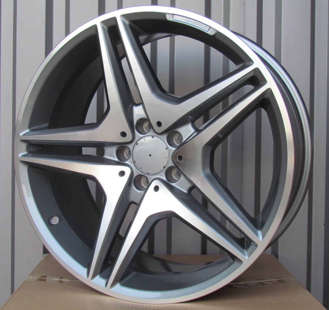 M20X9.5 5X112 ET43 66.6 XF555 MG (Rear+Front) RWR MER (K1+P) 9.5x20 ET41 5x112