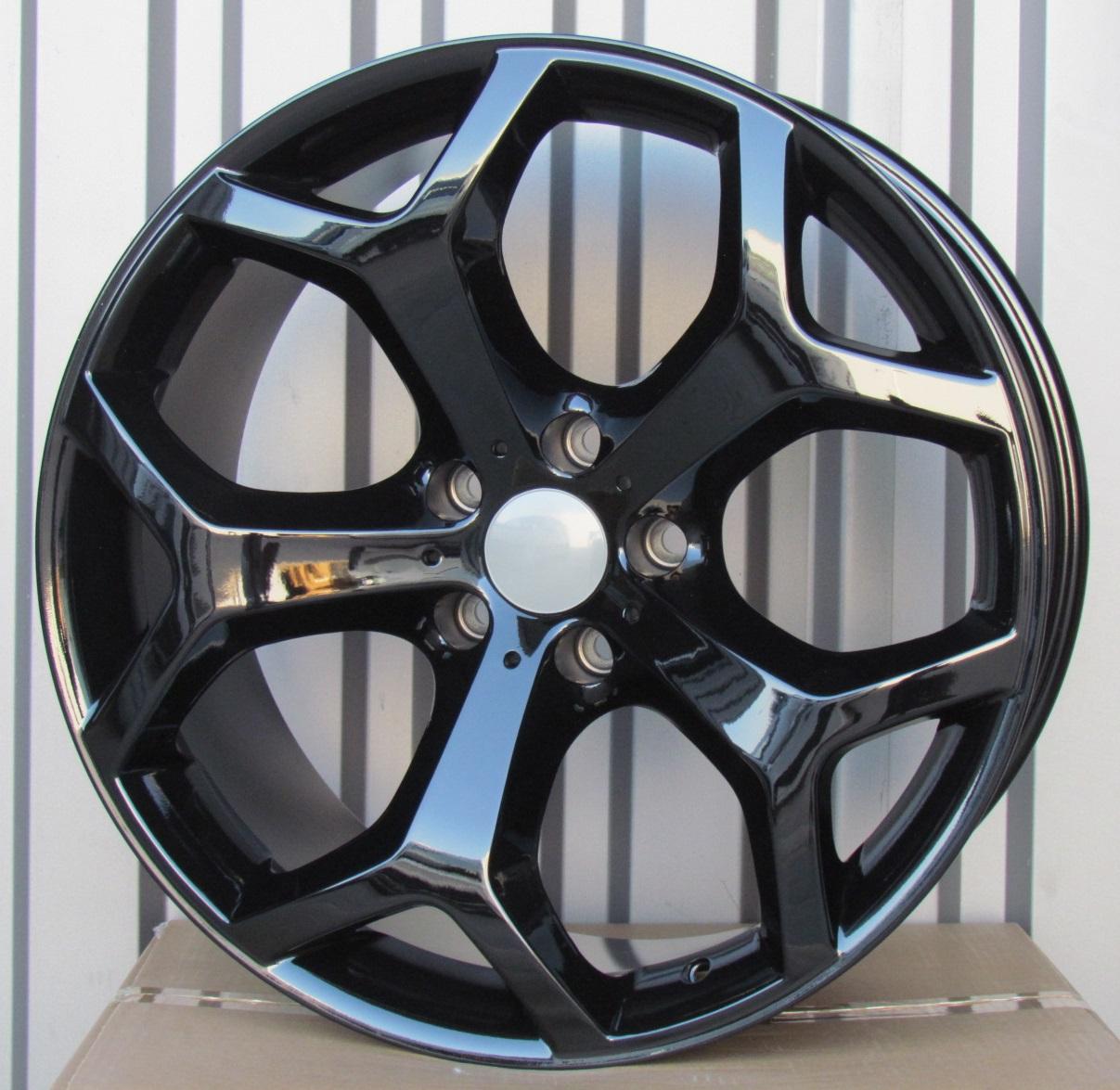 B19X9 5x120 ET48 74.1 XF711 (B70, FR595) BLACK RWR BM X5 (K4+P) 9x19 ET48 5x120