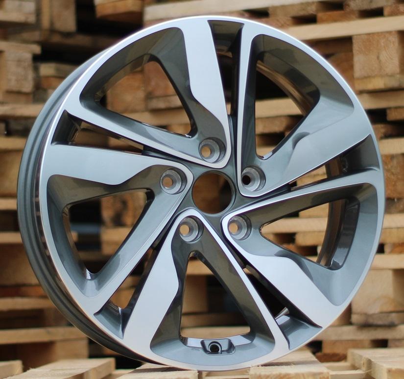 H15X6 5X114.3 ET45 67.1 XFA07 (A5206) MG+POWDER COATING (+3eur) RWR Hyundai ()## 6x15 ET45 5x114.3