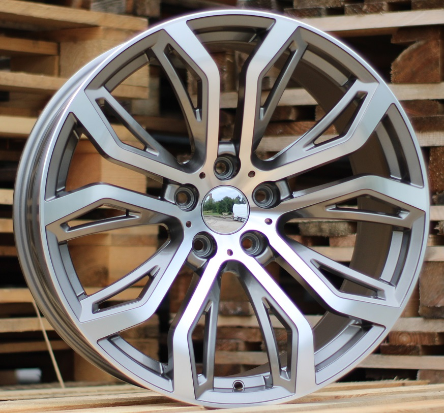 B20X10 5X120 ET40 74.1 5040 (FR528) MG (Rear+Front) RWR BM (K4) 10x20 ET41 5x120