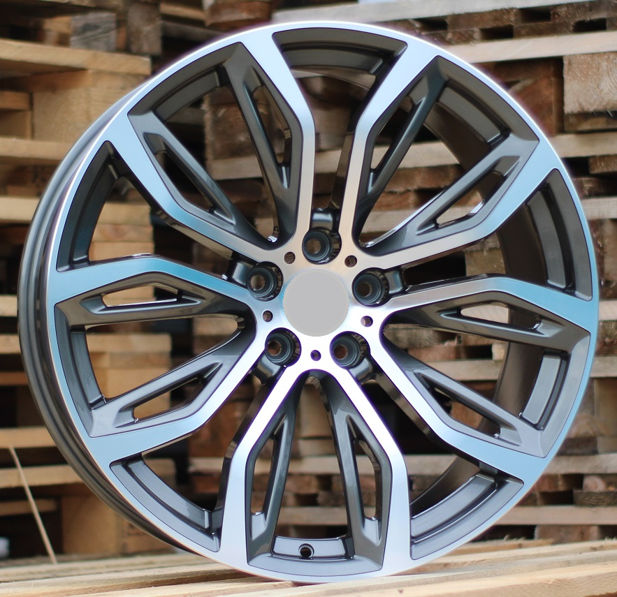 B21X10.5 5X120 ET45 74.1 A5040 MG+Powder coating (Rear+Front) RWR BM (+5 eur) (K4)## 10.5x21 ET46 5x120