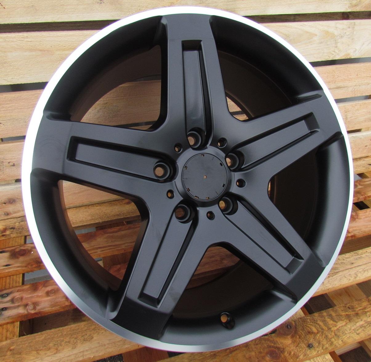 M19X9.5 5X130 ET50 84.1 ZE185 (BY911) Black half matt+PL RWR MER G (K6) 9.5x19 ET50 5x130